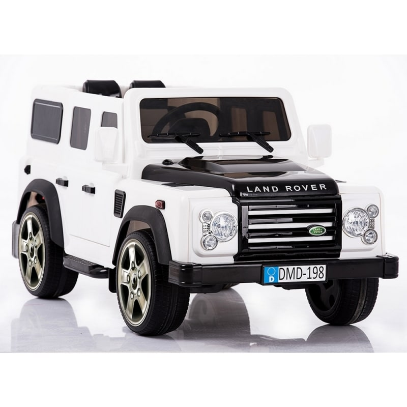 OPEN BOX Land Rover Defender Kids Ride-on Electric Toy Car with Suspension