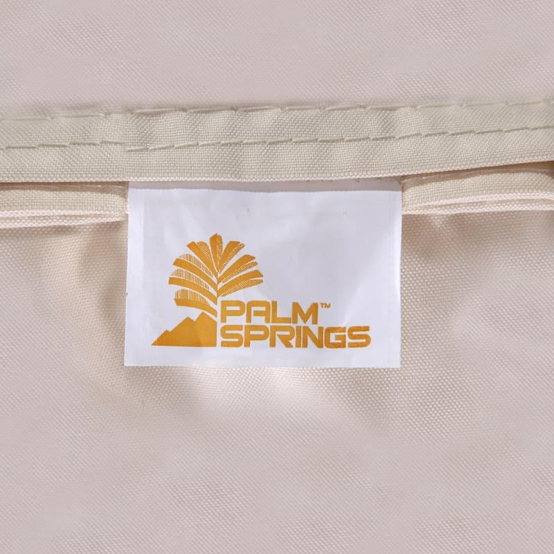 Palm Springs Outdoor Hanging Chair / Recliner Cream #8
