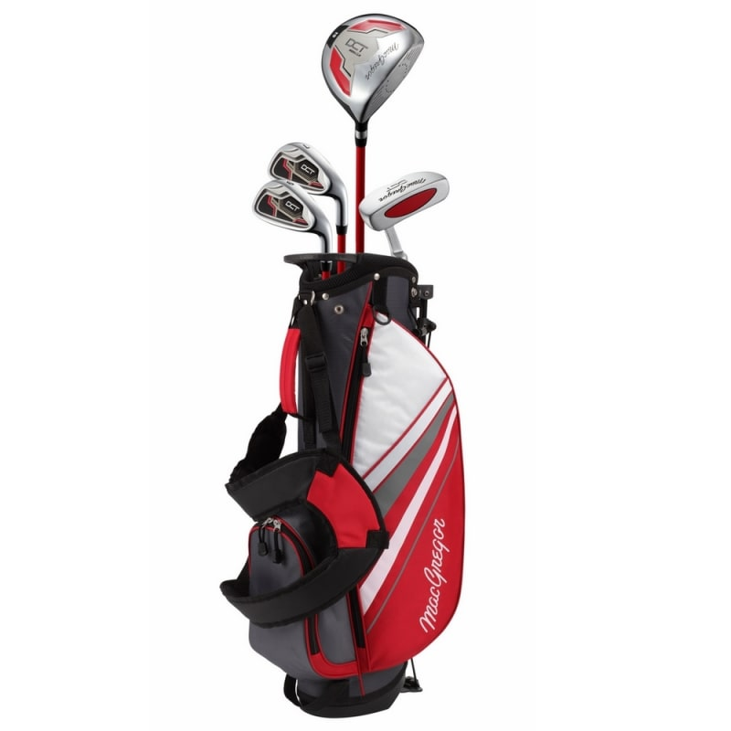 MacGregor Golf DCT Junior Golf Clubs Set with Bag, Right Hand Ages 6-8