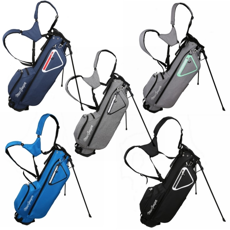 "MacGregor Golf MacTec Stand Bag - Slim Lightweight 7"" Golf Bag #1"