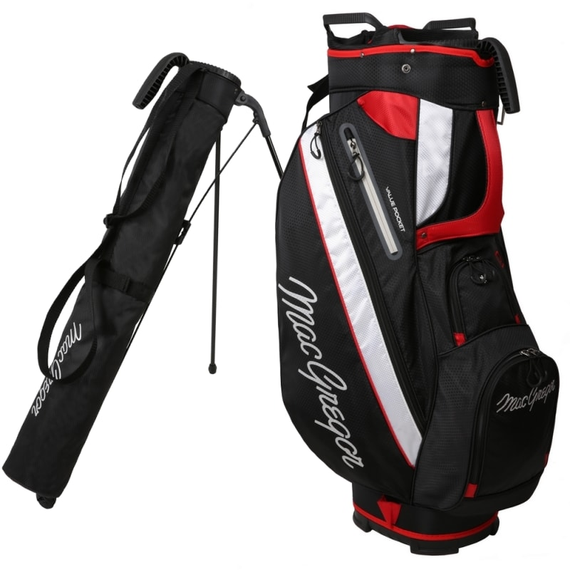 MacGregor Golf Tourney 2-in-1 Cart Bag with Removable Carry/Stand Bag #