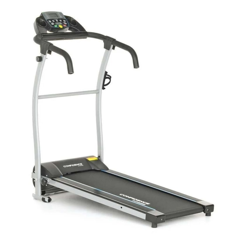 Confidence Fitness TP-1 Electric Treadmill Folding Motorized Running Machine