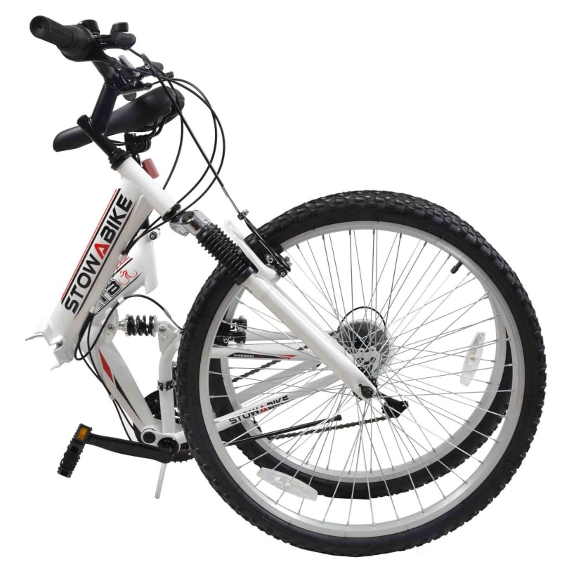 Stowabike Folding MTB V2 Mountain Bike Red / White #1