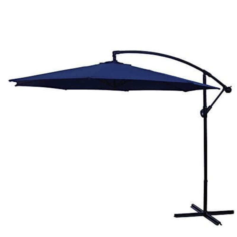 Palm Springs 3.5m Cantilever Patio Umbrella-Blue