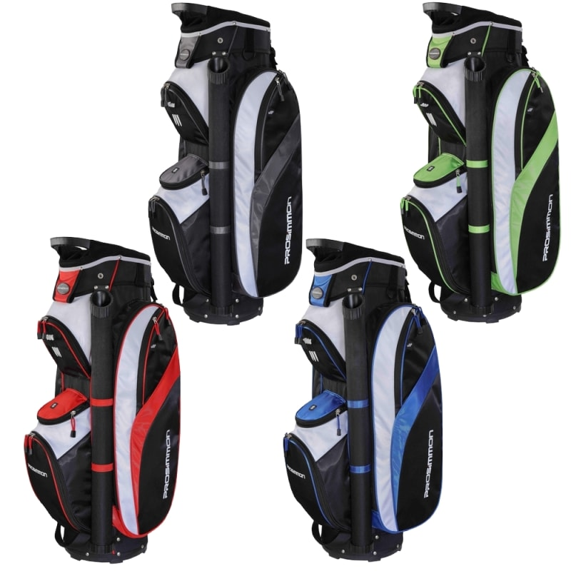 OPEN BOX Prosimmon Tour 14 Way Cart Golf Bag