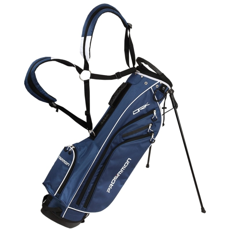 "Prosimmon Golf DRK 7"" Lightweight Golf Stand Bag with Dual Straps #"