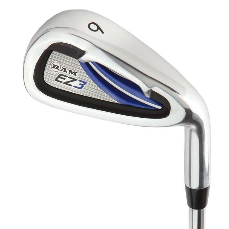 Ram Golf EZ3 Mens Golf Clubs Set with Stand Bag - Graphite/Steel Shafts #4
