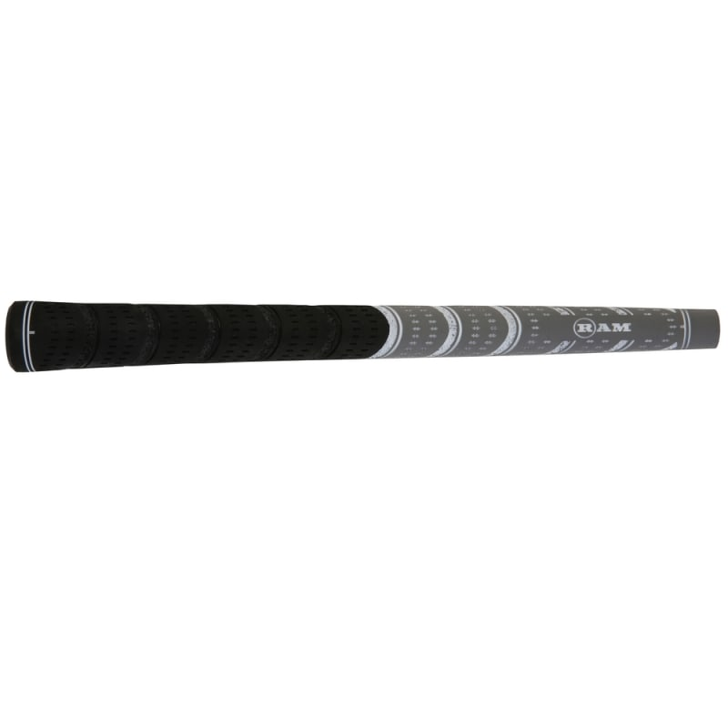 Ram FX Standard Golf Grip- Black/Grey #