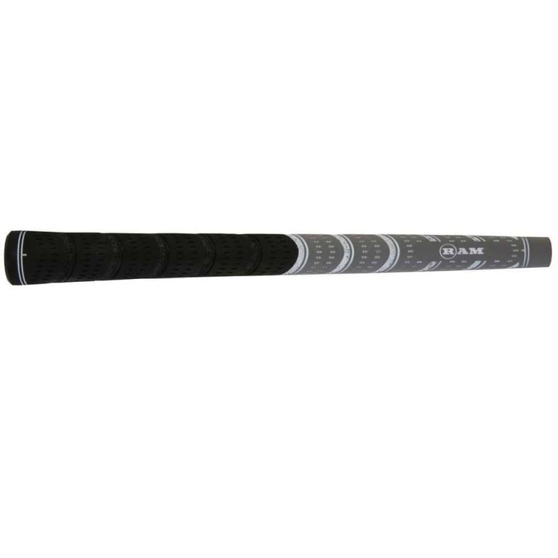 13 x Ram FX Standard Golf Grip- Black/Grey #