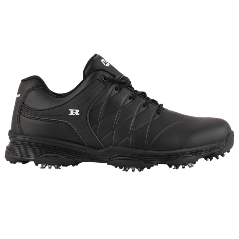 Ram Golf FX Tour Mens Waterproof Golf Shoes - Black #1