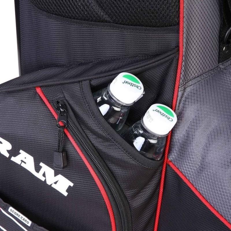 Ram Golf Lightweight Dual Strap Stand/Carry Bag #6