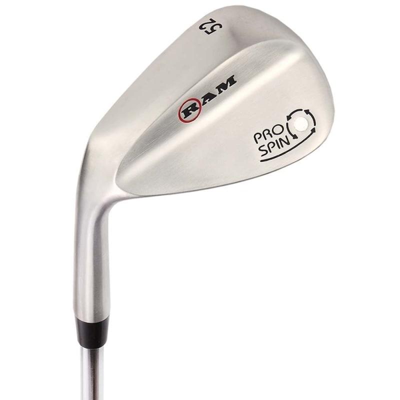 Ram Golf Pro Spin 3 Wedge Set - 52° Gap, 56° Sand, 60° Lob Wedges - Mens Left Hand #
