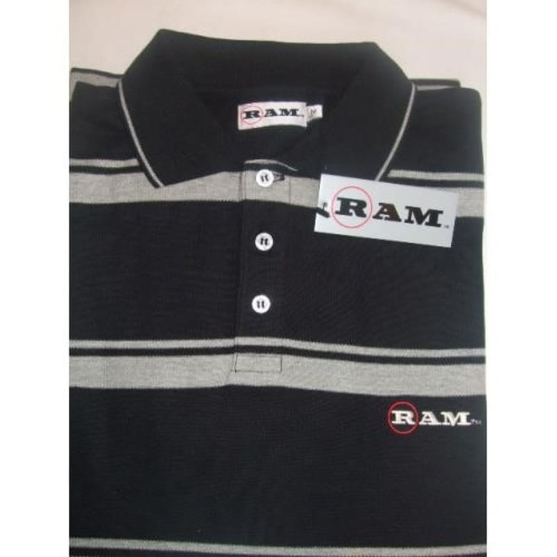 Ram Golf LEWIS Golf Polo Shirt 3 Pack #