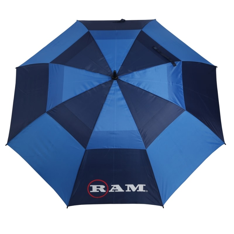 "Ram Golf Umbrellas 3 Pack - Premium 60"" Double Canopy Golf Umbrellas - Blue, Red, Black/White #1"