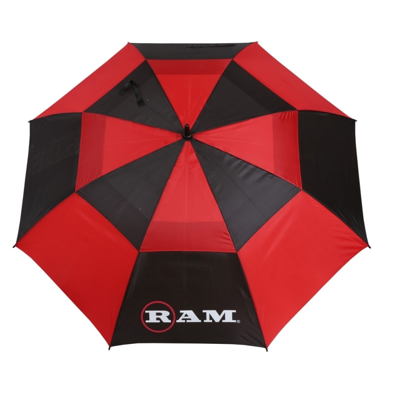 "Ram Golf Umbrellas 3 Pack - Premium 60"" Double Canopy Golf Umbrellas - Blue, Red, Black/White #3"