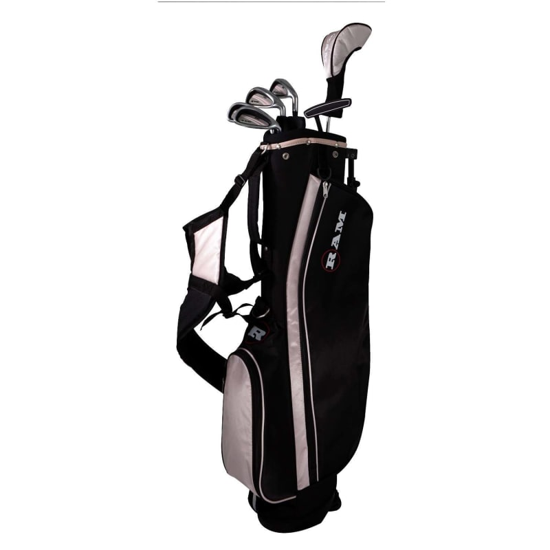 Ram Golf SGS Ladies Golf Clubs Set with Stand Bag - Steel Shafts #