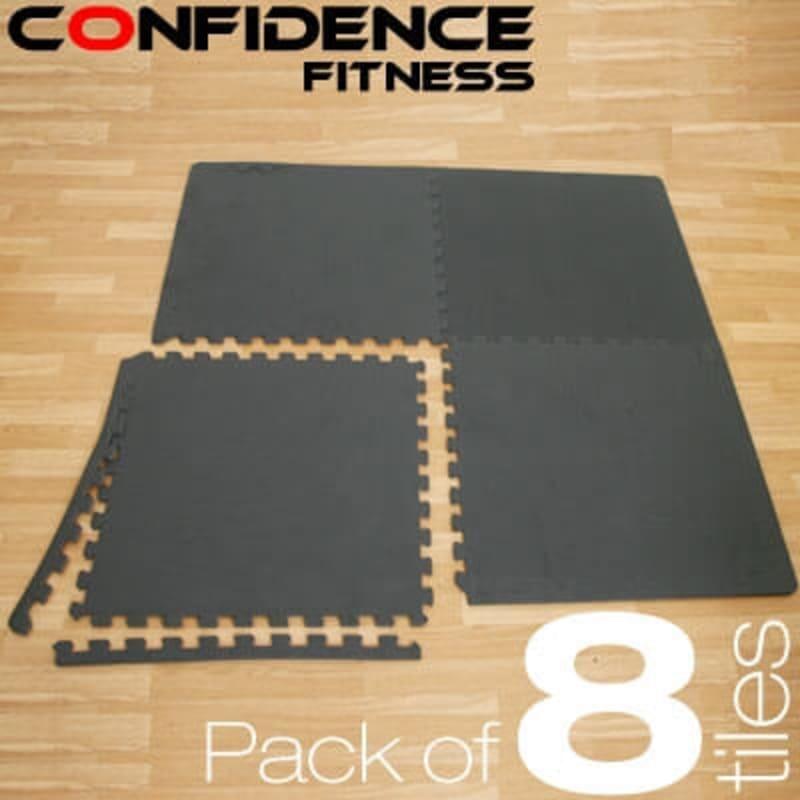Confidence EVA Floor Mat / Guards - 8 Tiles