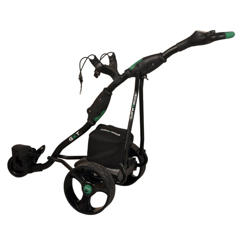 Stowamatic GXT Electric Golf Trolley BLK