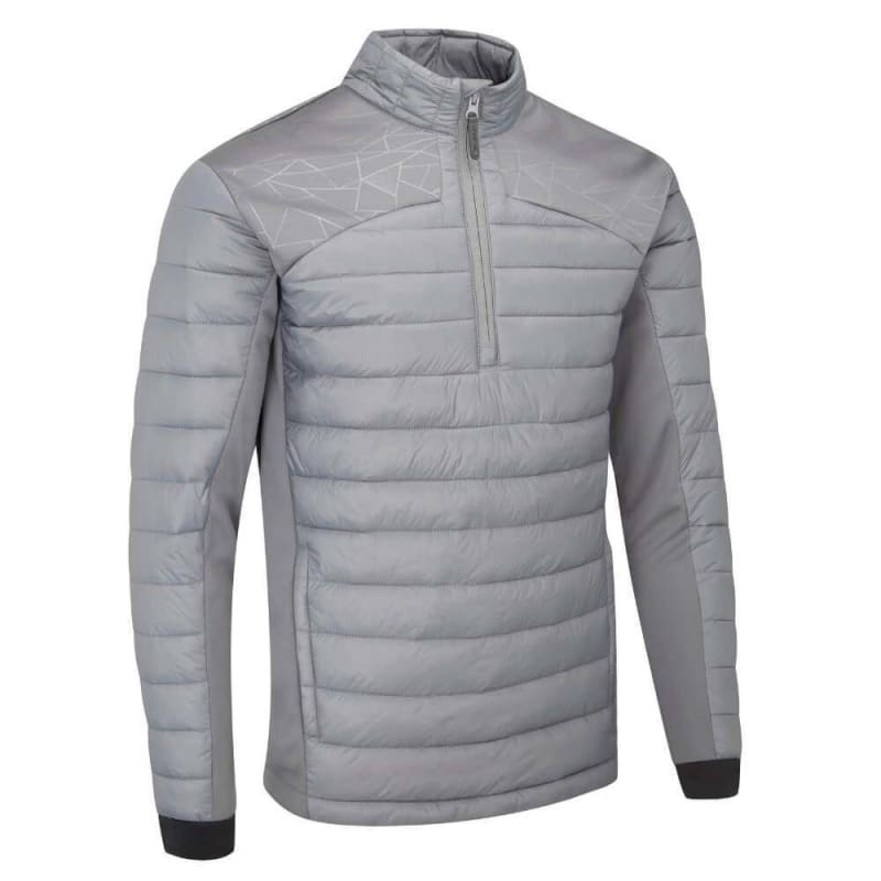 Stuburt Golf Evolve Sport Half Zip Padded Jacket Grey