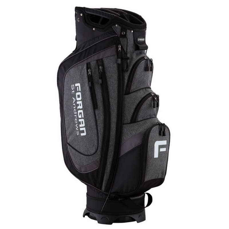 The Country Club by Forgan of St Andrews Deluxe Cart Bag with 14 Dividers #