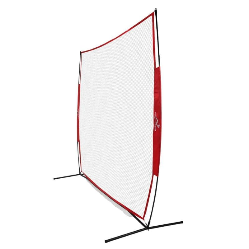 Wodoworm 7ft x 7ft Quick Up Sports Bow Frame and Net V2 - Practice/Protective Net Screen for Baseball, Softball and Other Sports #1