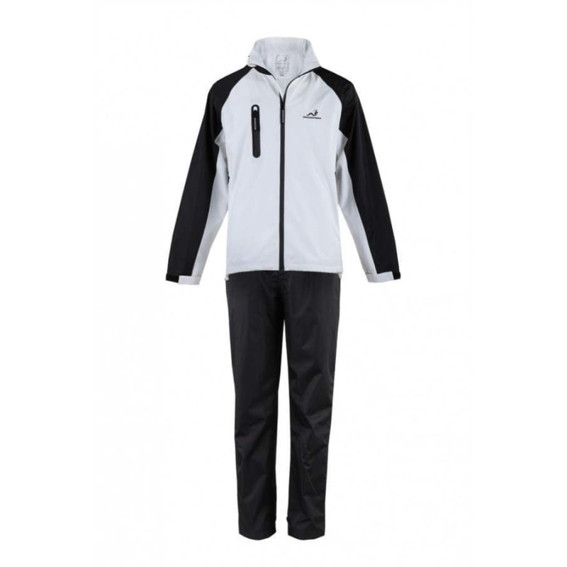 Woodworm Golf V2 Mens Waterproof Suit White-3XL