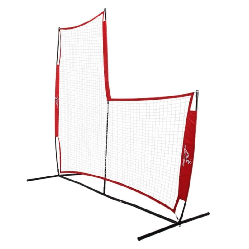 Woodworm Portable Baseball Screen V2 - Pop-Up Pitching Protecting L-Screen Net and Frame #1