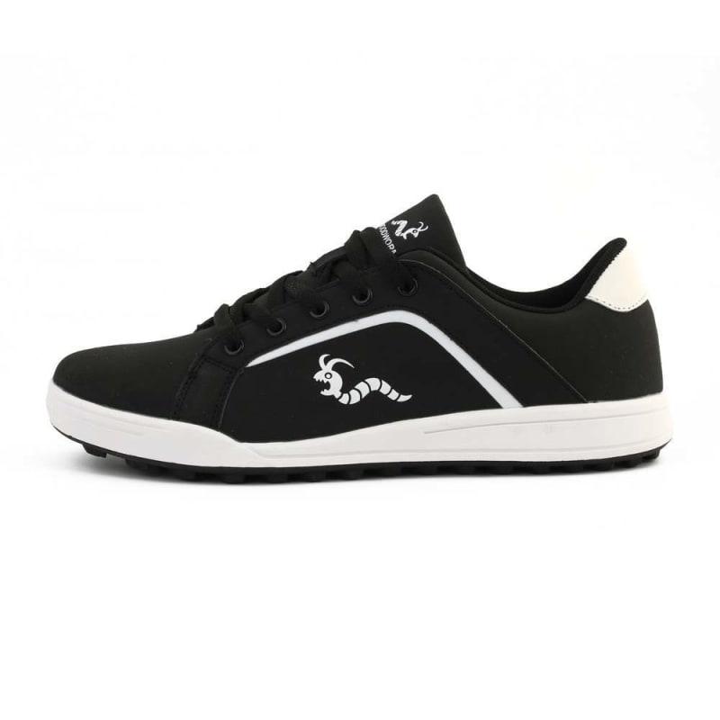 Woodworm Golf Surge V3 Mens Golf Shoes Black/White #2