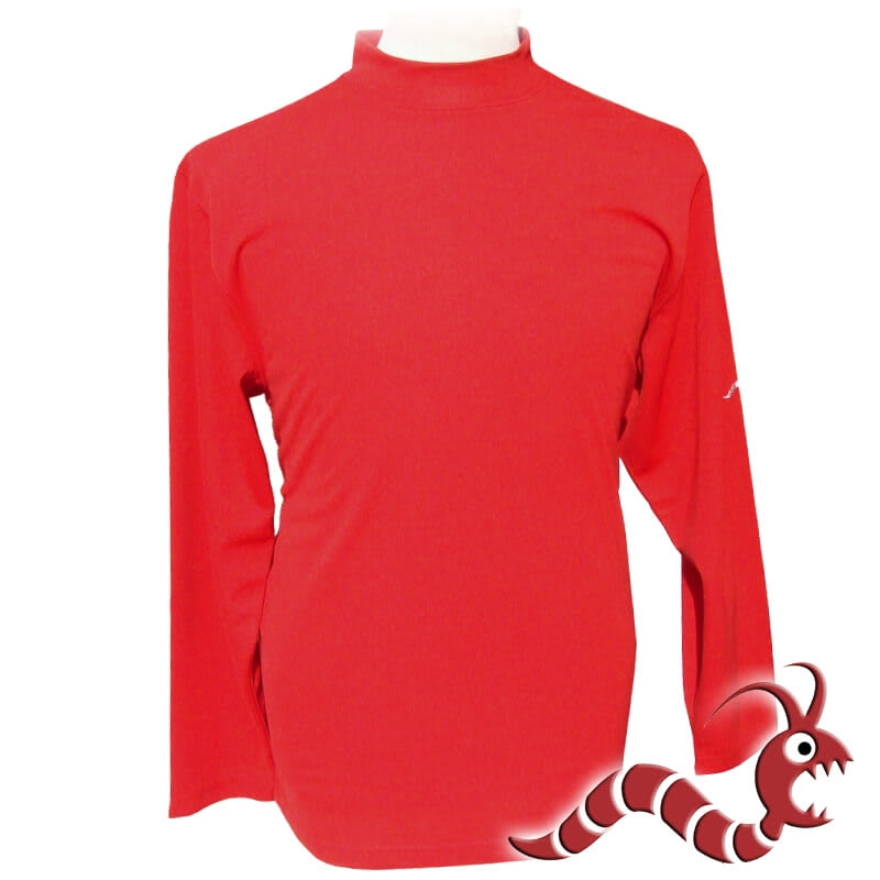 Woodworm Golf Long Sleeve Mock Shirt