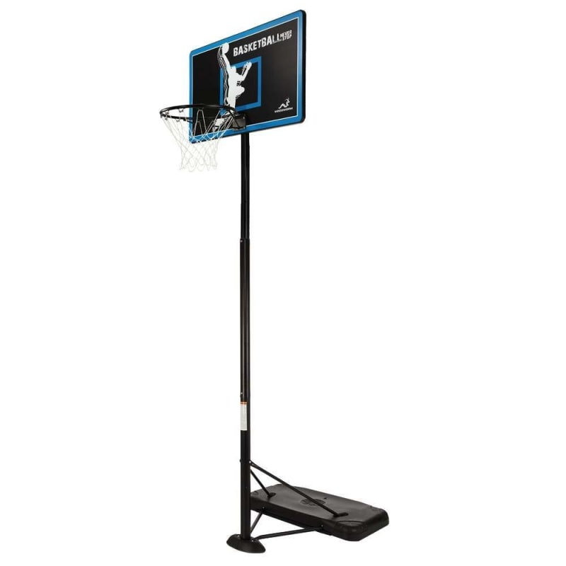 Ex-Demo Woodworm TX100 Outdoor Adult Full Size Basketball Hoop System with Base