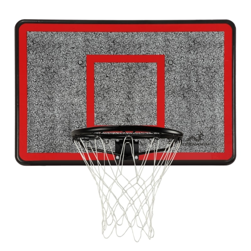 Woodworm Outdoor Wall Mounted Basketball Hoop, Backboard and Net Set