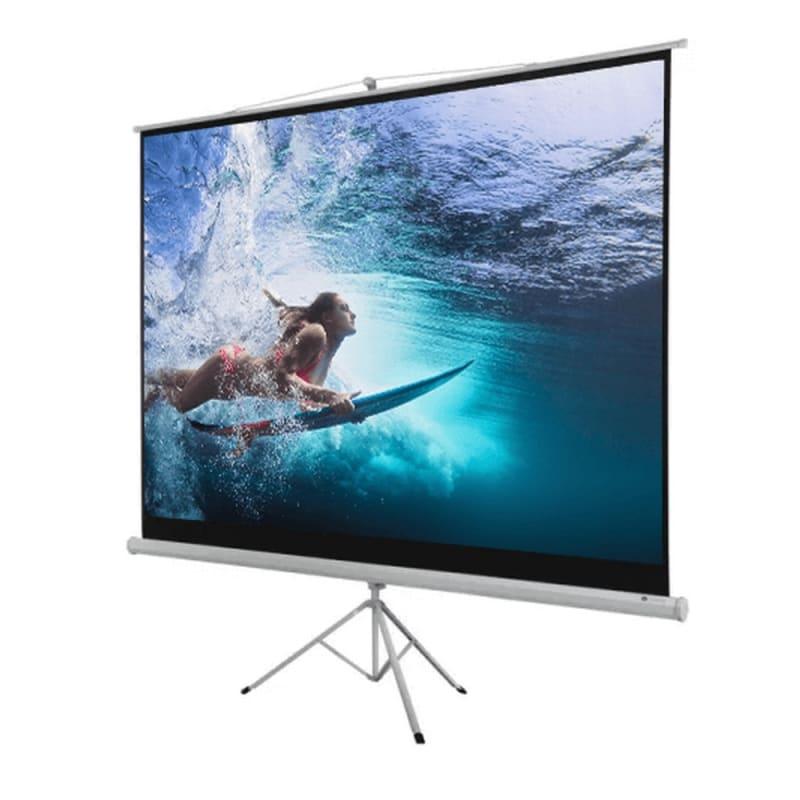 """OPEN BOX Homegear 100"""" 4:3 Tripod Projector Screen HD #2"""