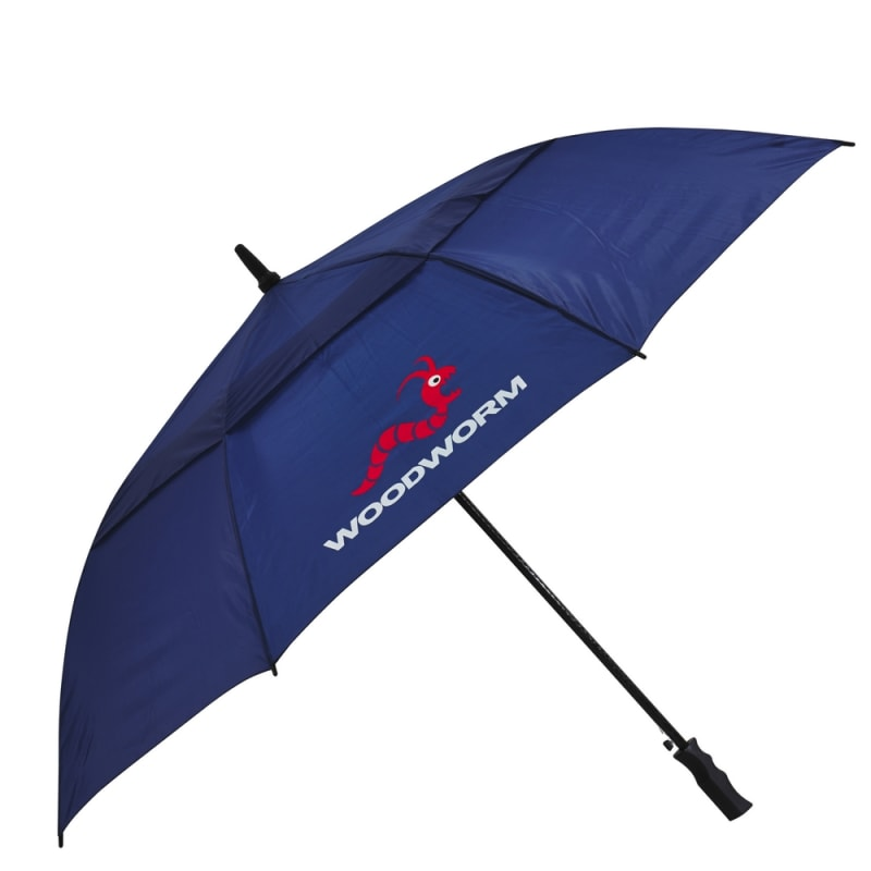 "3x Woodworm Double Canopy 60"" Golf Umbrellas #2"