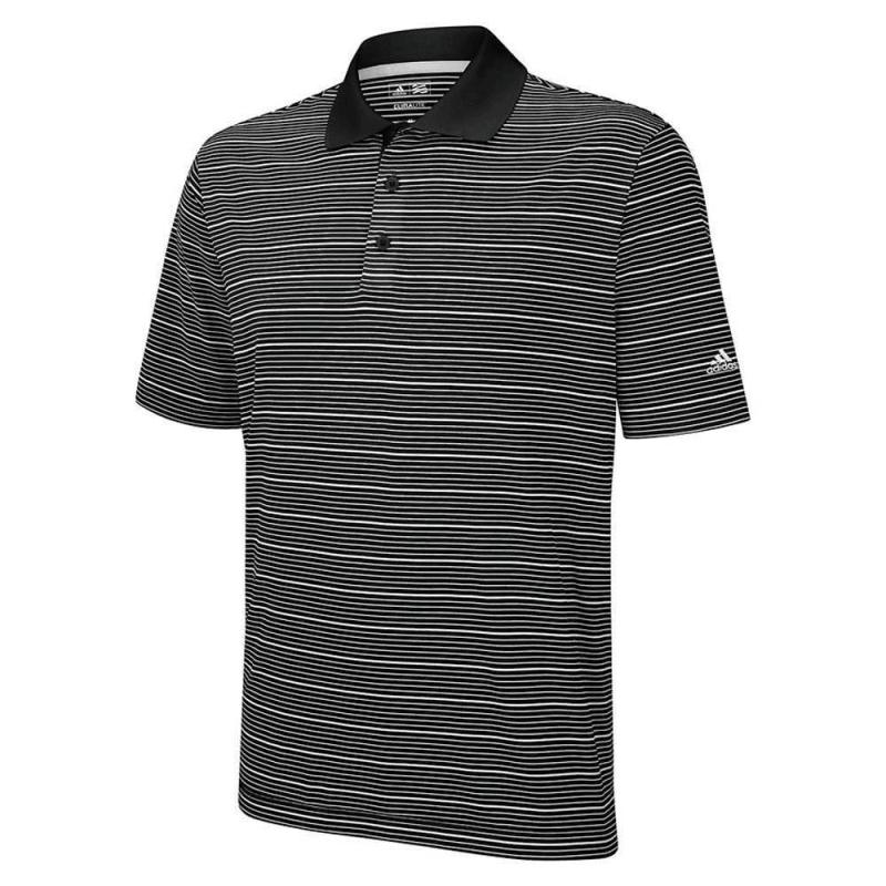 Adidas Climalite Two-Colour Stripe Polo