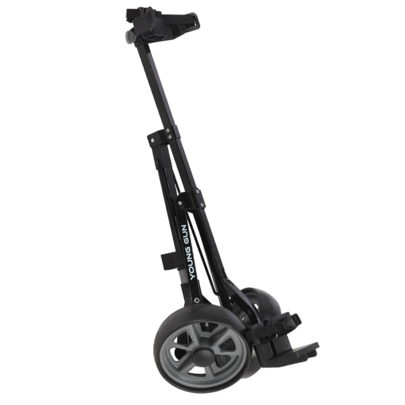 Young Gun Kids Adjustable Golf Cart for Junior Golfers 3-14 Years Old - Black/Grey #1