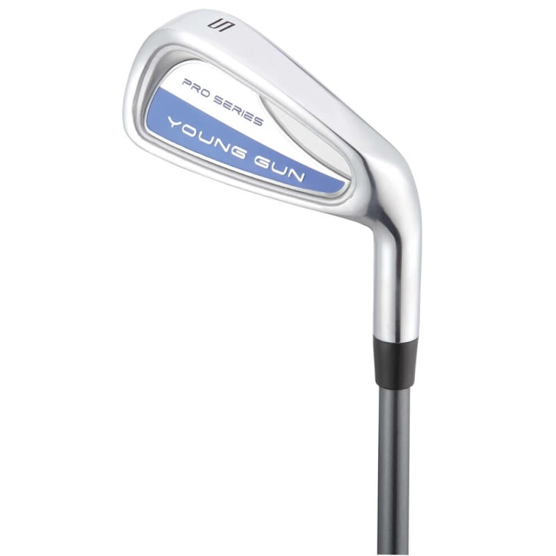 Young Gun PRO SERIES Irons Blue Age 6-8