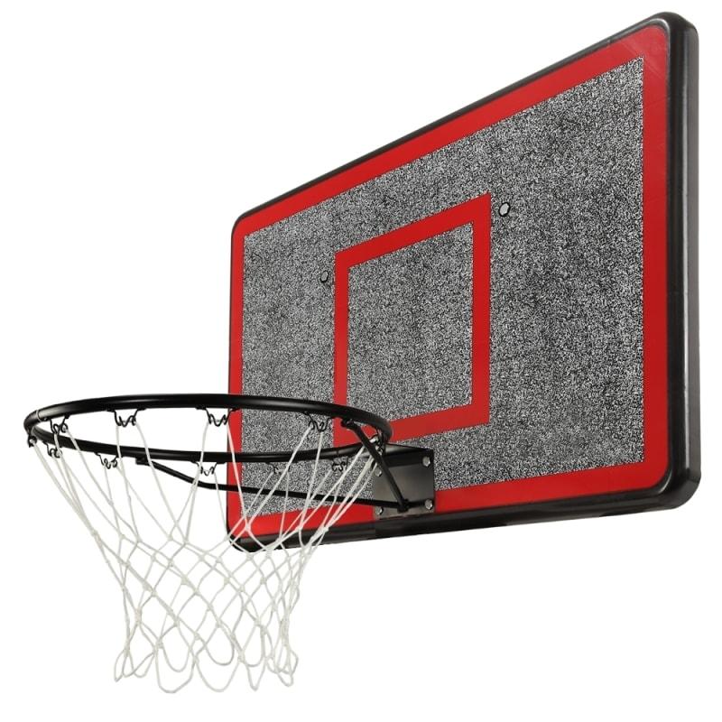 ZAAP Outdoor Wall Mounted Basketball Hoop, Backboard and Net Set #1