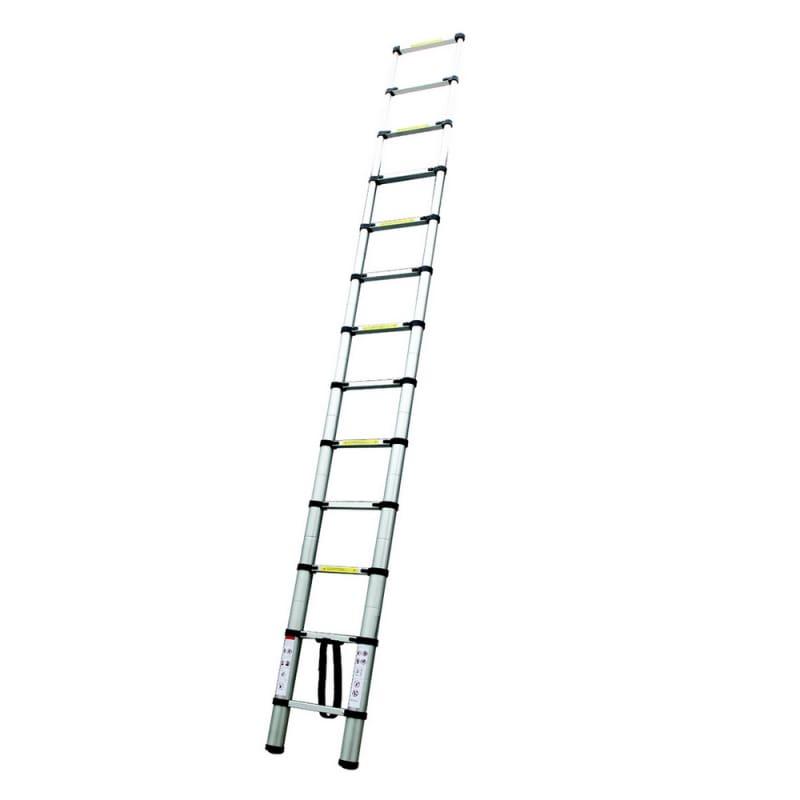OPEN BOX Homegear 12.5ft Telescopic Extension Ladder #2