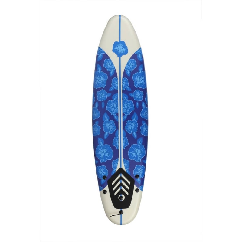 North Gear 6ft / 182cm Foam Surfboard Blue/White