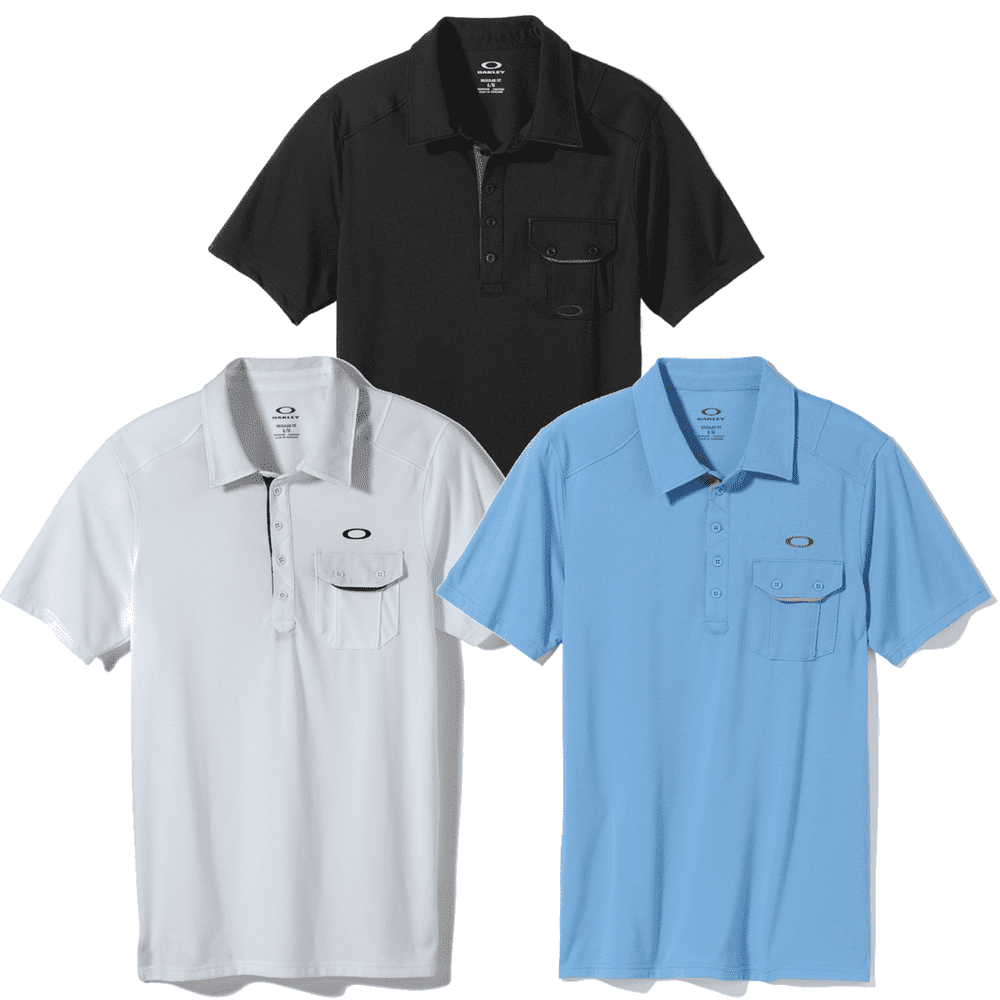 7cc45621448b5 Oakley Must Have Polo Shirt 3 Pack Small