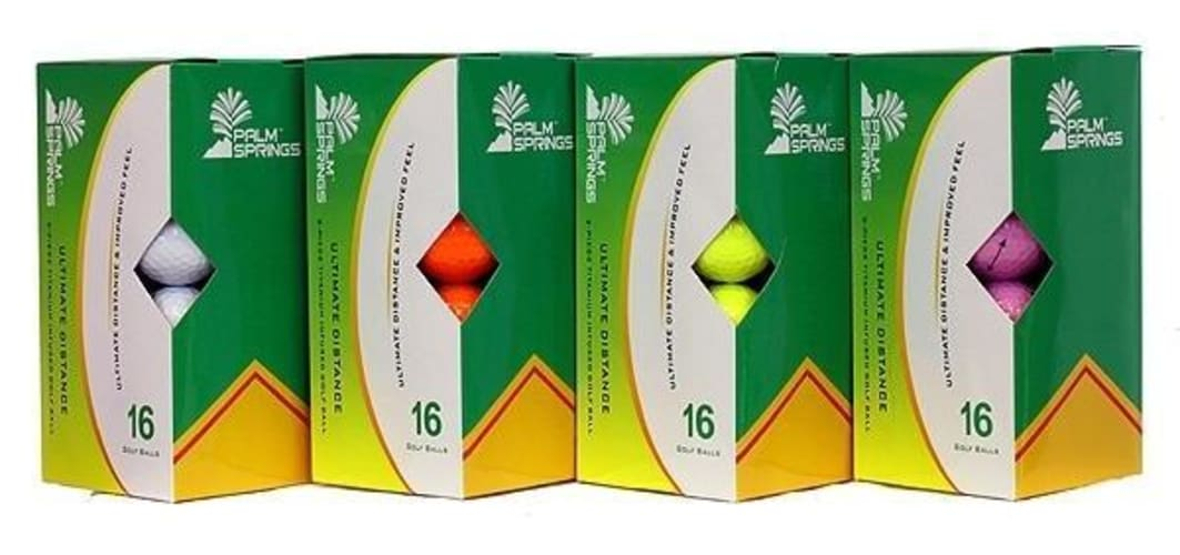 160 Palm Springs Ultimate Distance Golf Balls