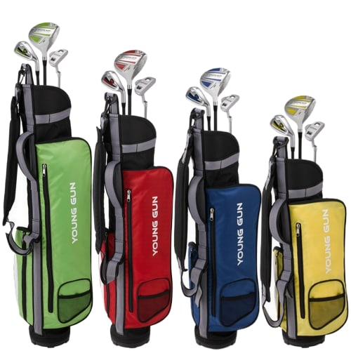 OPEN BOX Young Gun ZAAP Junior Eagle Golf Set