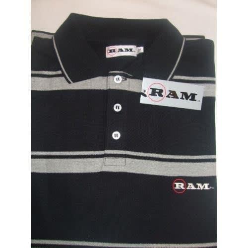 Forgan of St Andrews Block Panel Premium Golf Polo Shirts 3 Pack - Mens
