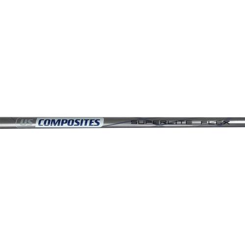 US COMPOSITES Lightweight 100% Pure Graphite Shaft for Irons - Regular Flex