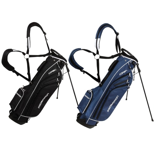 """Prosimmon Golf DRK 7"""" Lightweight Golf Stand Bag with Dual Straps"""