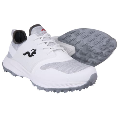 Woodworm Flame Mens Golf Shoes - Sneaker/Trainer Style - White