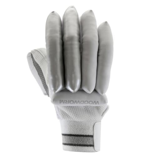 Woodworm Cricket Wand Flame Junior Right Hand Batting Gloves