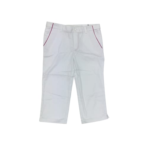 Ashworth Golf Ladies Capri Trousers / Pedal Pushers - White Size 10