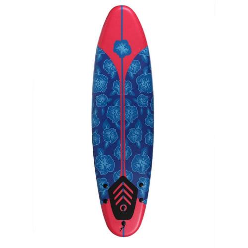 OPEN BOX North Gear 6ft Foam Surfboard Blue / Red