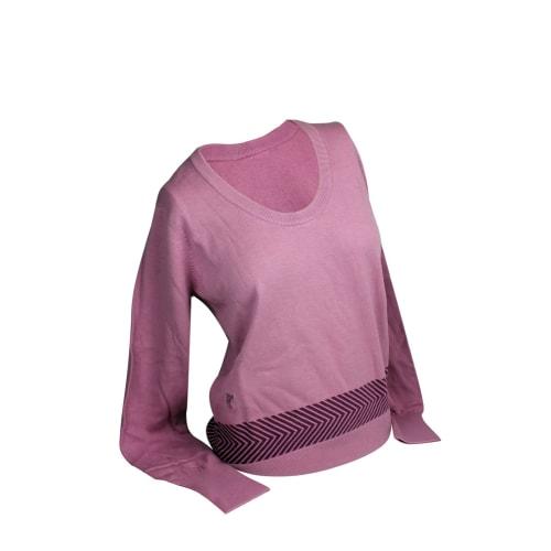 Ashworth Ladies Round Neck Golf Sweater With Print